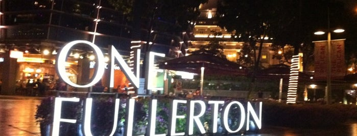 One Fullerton is one of #myhints4Singapore.