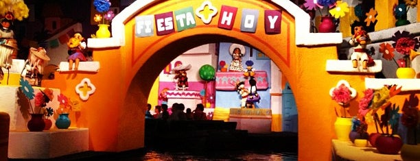 Gran Fiesta Tour Starring the Three Caballeros is one of Epcot.