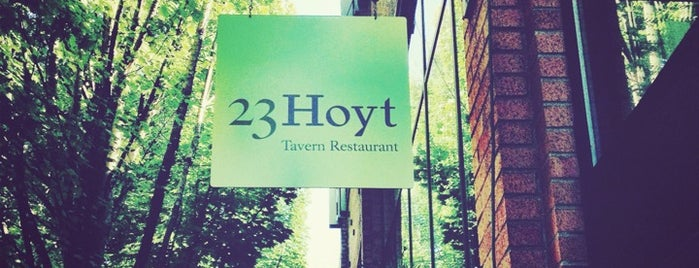 23Hoyt is one of Go To Spots when I'm in Town.