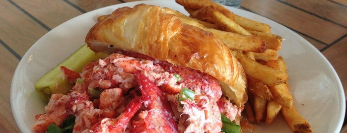 The Mooring Seafood Kitchen & Bar is one of Ultimate Summertime Lobster Rolls.