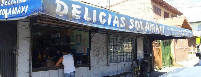 Delicias SOLAMAVI is one of Orte, die Andres gefallen.