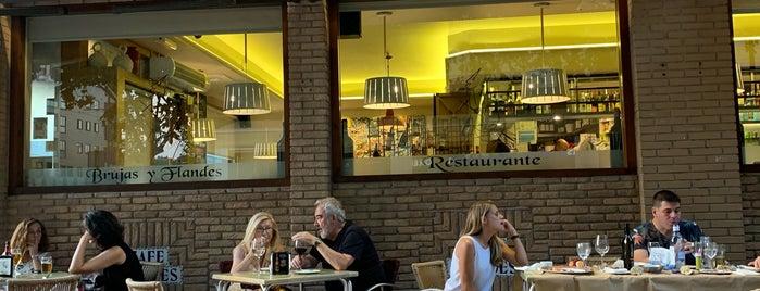 Brujas Y Flandes, Restaurante is one of Restaurantes medios.