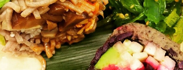Beyond Sushi is one of NYC vegan/vegetarian.