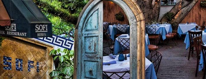 Sofi Greek Restaurant and Garden is one of La Food, yo.