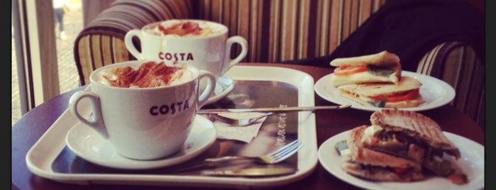 Costa Coffee is one of хочу....