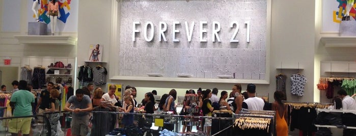 Forever 21 is one of NY.