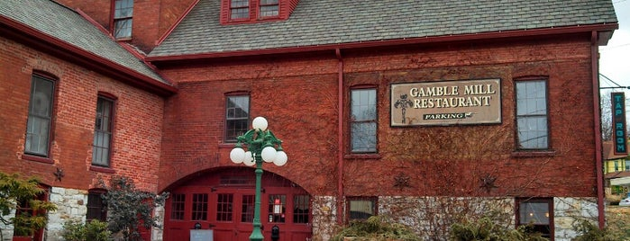 The Gamble Mill Restaurant is one of Gespeicherte Orte von leoaze.
