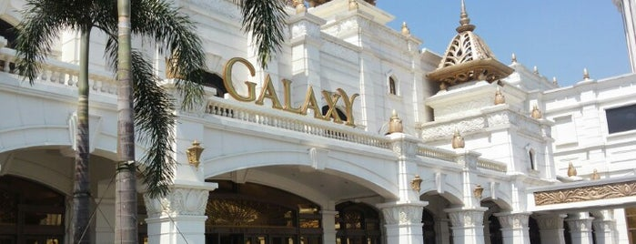 Galaxy Macau is one of CASINOS.