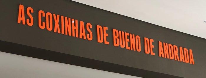 Coxinhas Douradas is one of Locais curtidos por Marcos.