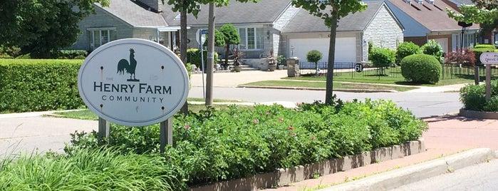 Henry Farm is one of Toronto Neighbourhoods.