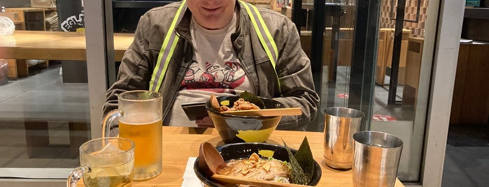 Kinton Ramen is one of My liked places (Toronto).