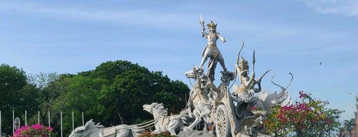 Patung Satria Gatot Kaca is one of Bali.