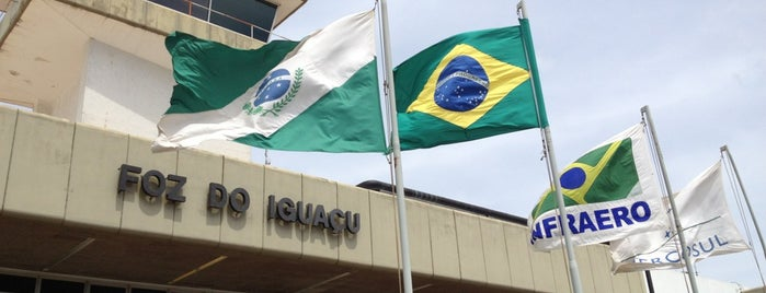 Aeroporto Internacional de Foz do Iguaçu / Cataratas (IGU) is one of Deniseさんのお気に入りスポット.