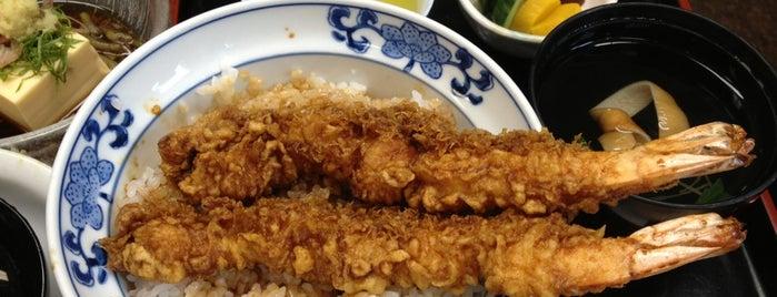 尾張屋 本店 is one of 天丼食べたい (東京都内).