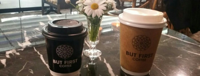 But First Coffee is one of Istanbul.