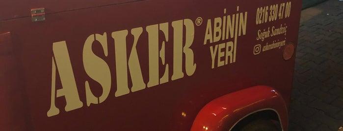 Asker Abinin Yeri is one of İstanbul Cafe/Restorant.