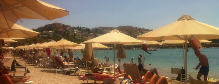 Vouliagmeni Beach is one of inathenswetrust.