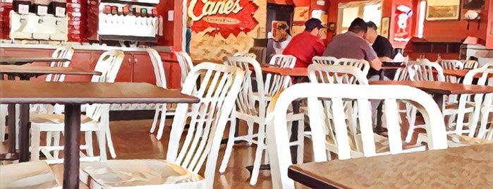 Raising Cane's Chicken Fingers is one of Austin.