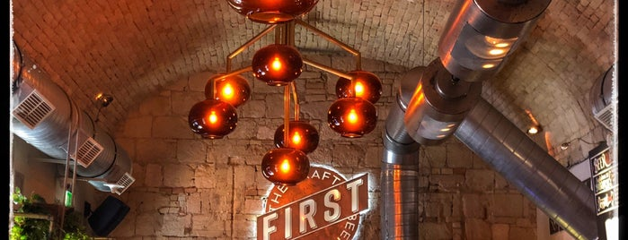 First | Craft Beer & BBQ is one of Budapest.