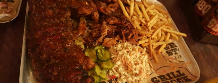 Grill Stock BBQ Smokehouse is one of BBQ in London.