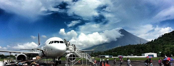 Legazpi Airport (LGP) is one of Airports 2.