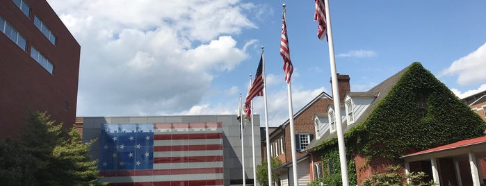 The Flag House & Star-Spangled Banner Museum is one of The Great Baltimore Check-In.