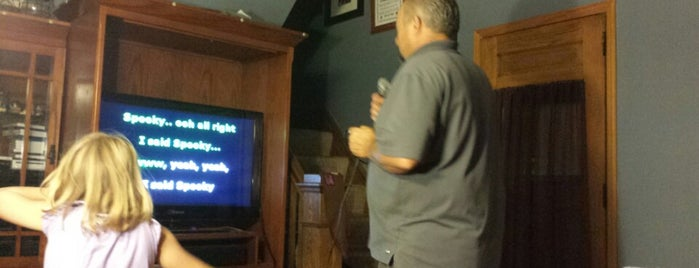 T-Bone's Karaoke Palace is one of Places YOU can't be Mayor of....