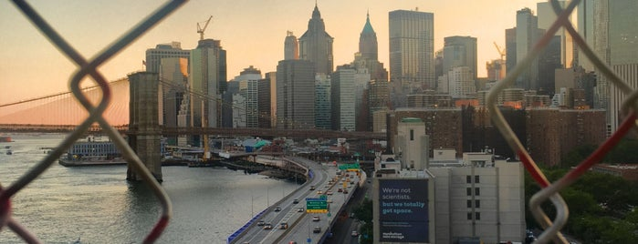 Manhattan Bridge is one of A Tale of Three Bridges.