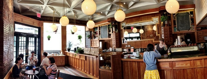 Stumptown Coffee Roasters is one of Café/travail.