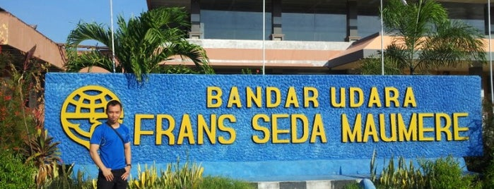 Bandara Fransiskus Xaverius Seda is one of Part 1~International Airports....