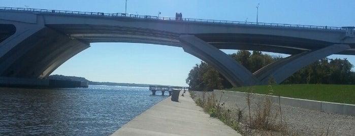 Woodrow Wilson Bridge Pedestrian Trail (National Harbor to Old Town Alexandria) is one of D.C..