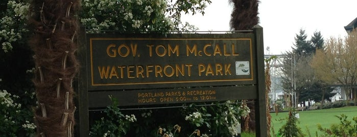 Gov. Tom McCall Waterfront Park is one of Portland Faves.