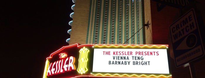 The Kessler Theater is one of 67 Things to do in Dallas Before You Die or Move.