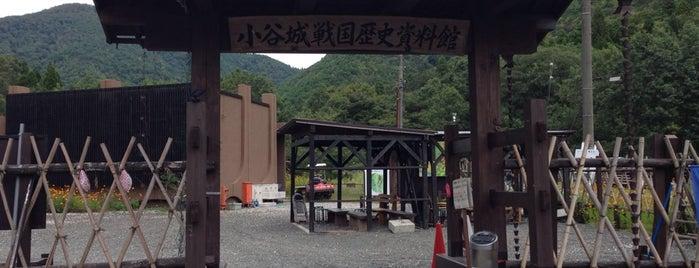小谷城戦国歴史資料館 is one of 近江 琵琶湖 若狭.
