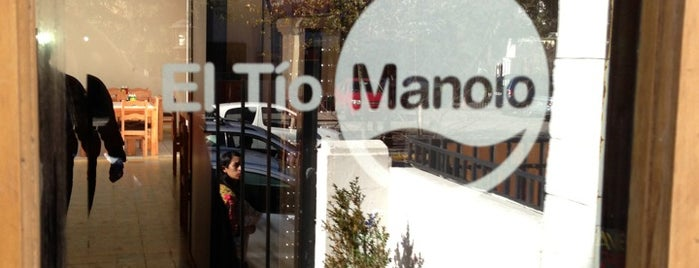 El Tío Manolo is one of Love eat!.