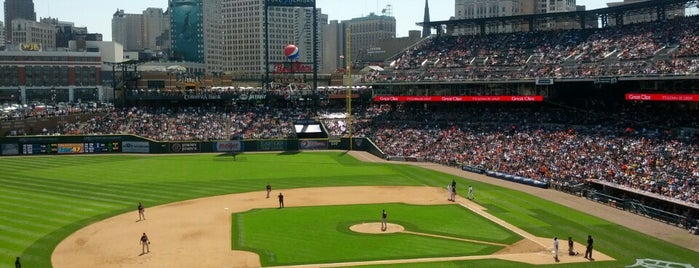 Comerica Park is one of MLB Stadium.