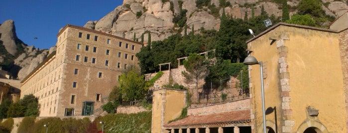 Monestir de Montserrat is one of Barcelona.