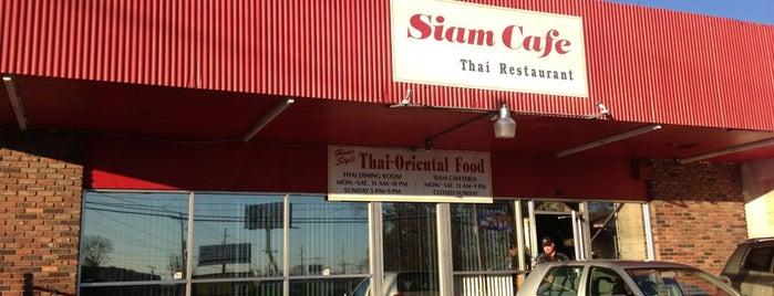 Siam Cafe is one of Gespeicherte Orte von Annie.