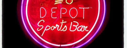 Alamo Depot Sports Bar is one of Cash Only.