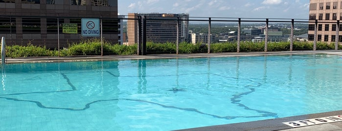 JW Marriott Pool is one of Lieux qui ont plu à Richard.