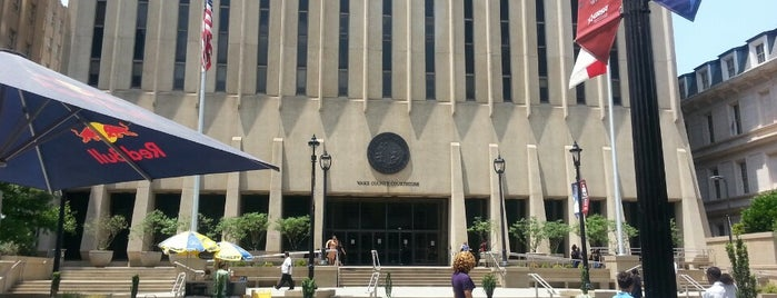 Wake County Courthouse is one of Lugares favoritos de Michael.