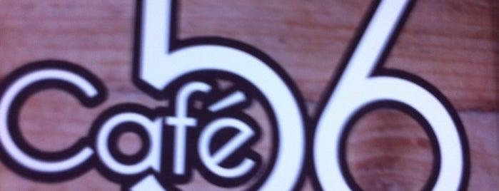 Café 56 is one of Tempat yang Disukai Ine 🎀.