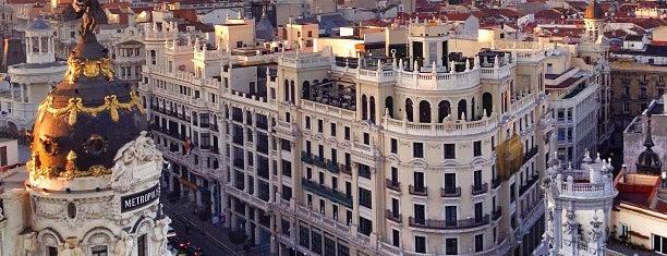 Círculo de Bellas Artes is one of Madrid Gourmand.