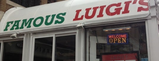 Famous Luigi's is one of Washington DC.