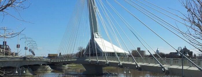 Esplanade Riel is one of Winnipeg.