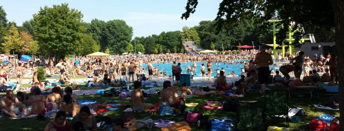 Freibad West is one of Nuremberg's favourite places.