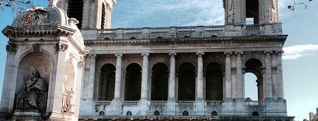 Place Saint-Sulpice is one of Paris.