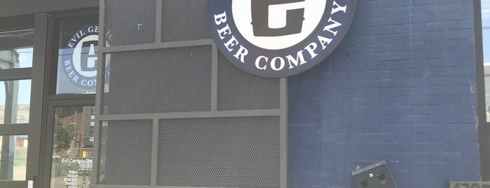 Evil Genius Beer Company is one of Philly.