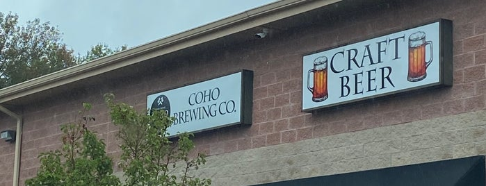 Coho Brewery is one of Fun.