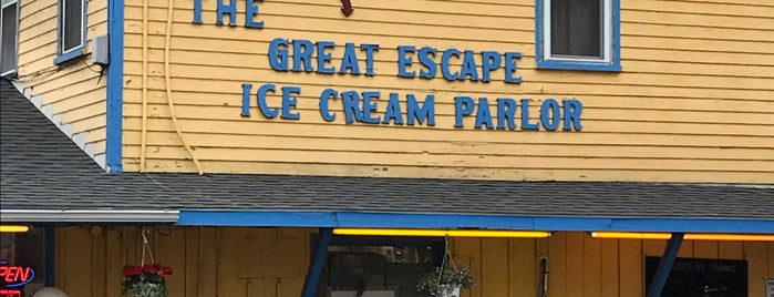 The Great Escape is one of Finger Lakes.